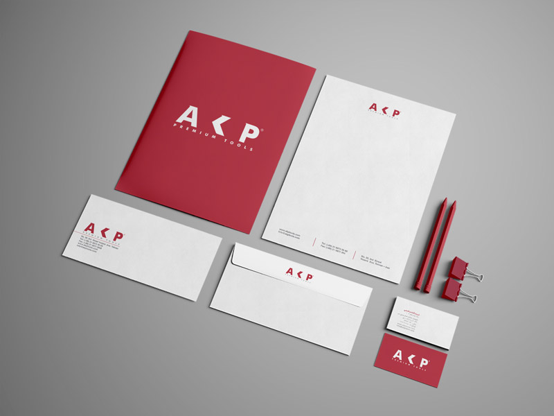 Stationary graphic design